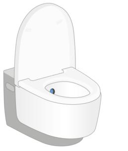 Geberit AquaClean douchewc - 1. Een schone zaak - Touchfree Toilet